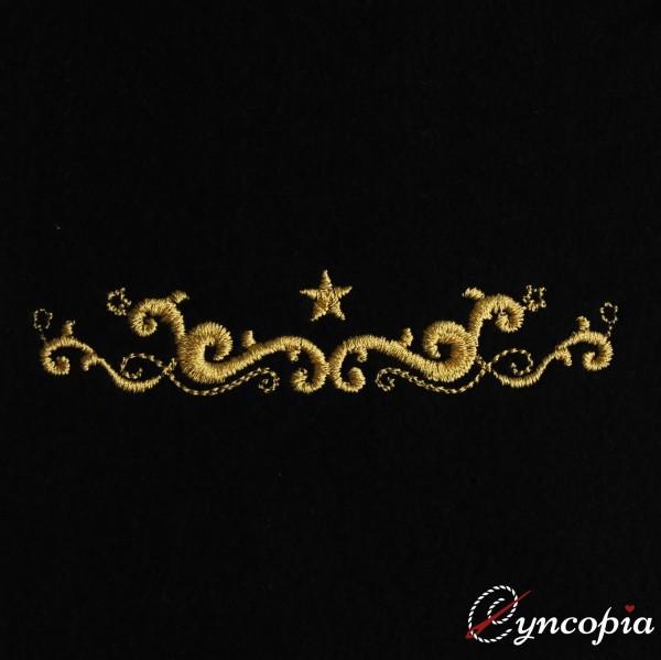 Fichier Broderie Ornement de Noël Baroque 5