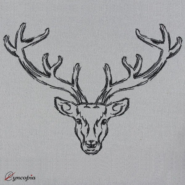 Embroidery Design Pure Deer