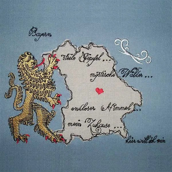 Embroidery Design Bavaria Doodle
