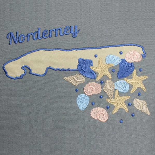 Embroidery Design Norderney Appli