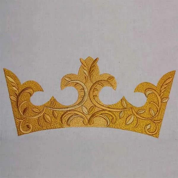 Stickdatei Prachtvolle Krone