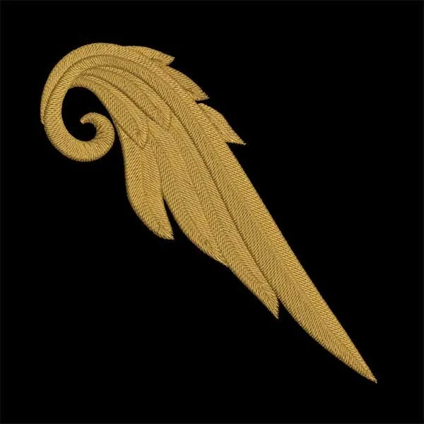 Embroidery Design One Angelwing