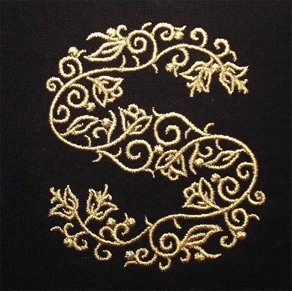 Embroidery Design S Fine Ornament