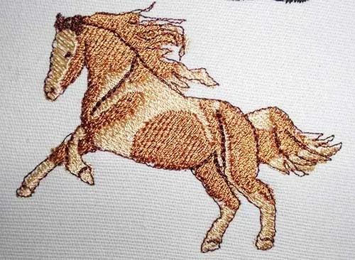 Embrodery Design Little Horse