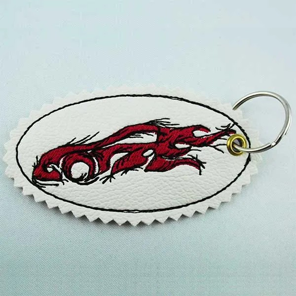 Embroidery Design Tribal Car Key Fob ITH
