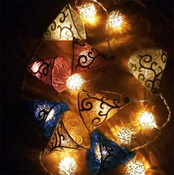 Embroidery Design LED Umbrella Lace