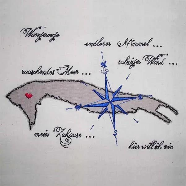 Fichier Broderie Wangerooge Doodle