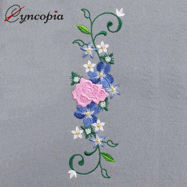 Embroidery Design Flower ornament 4