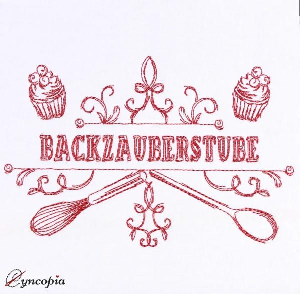 Motif de Broderie Caractères Backzauberstube