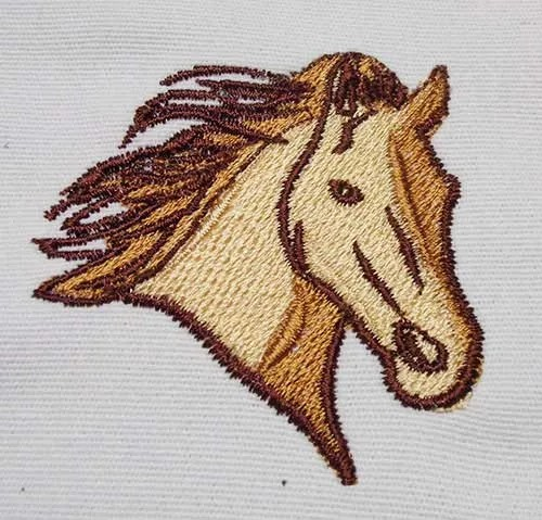 Embroidery Design Horse Head