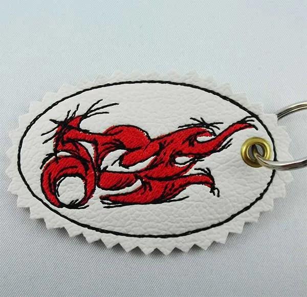 Tribal Bike Schlüsselanhänger