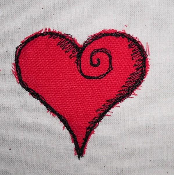 Herz-Doodle