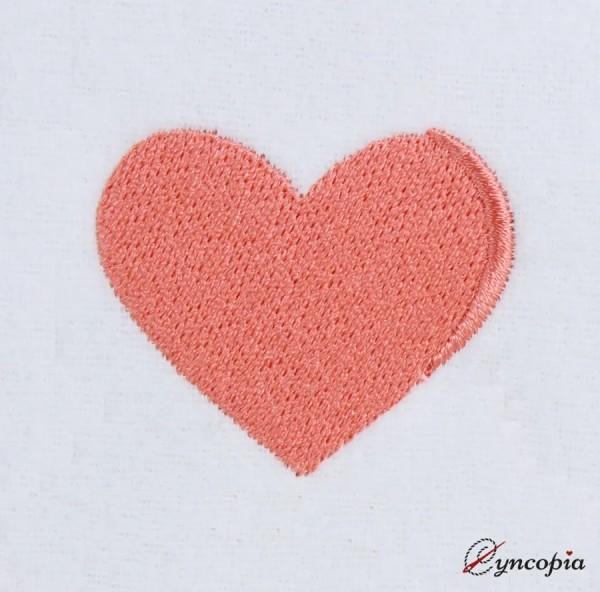 Stickdatei Basic Herz