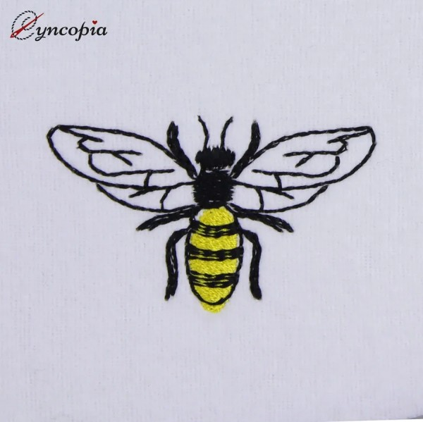 Embroidery Design Basic Bee