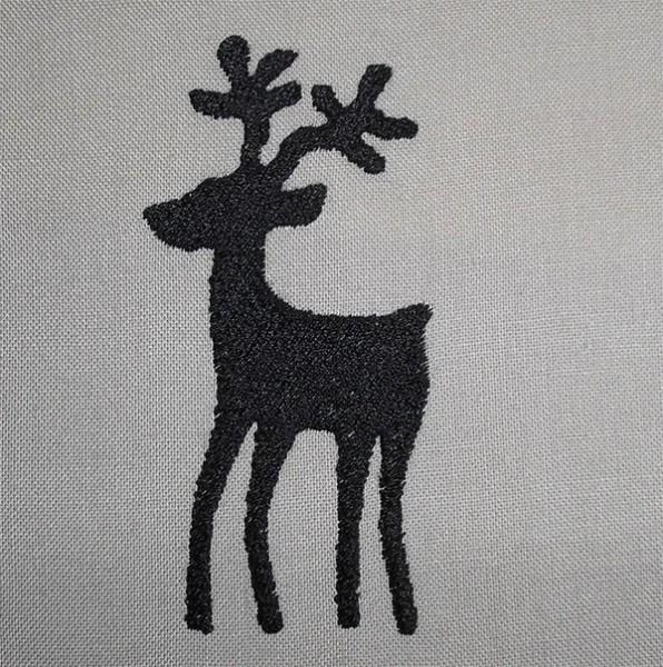Reindeer-Silhouette