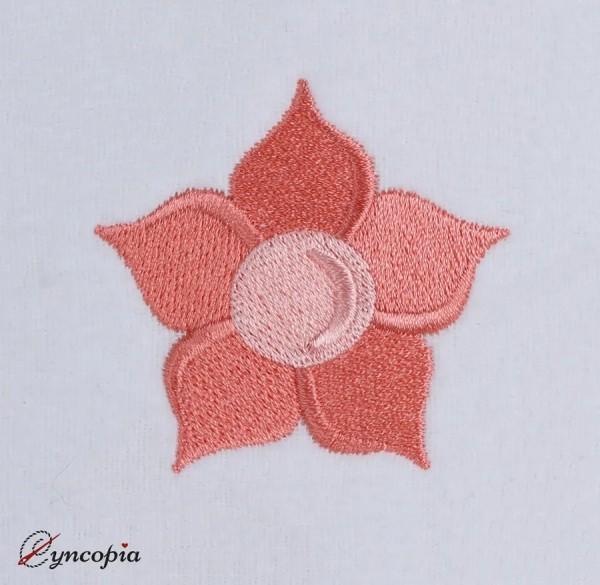Embroidery Design Basic Flower