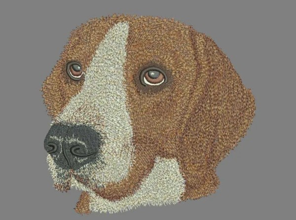 Embroidery Design Beagle Ivanhoe