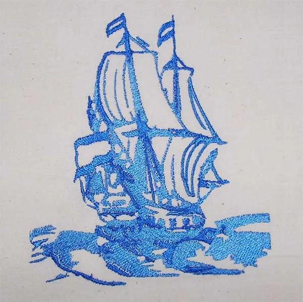 Shabby-Segelschiff-cyncopia