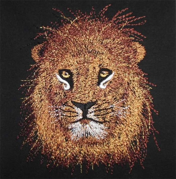 Embroidery Design Lion