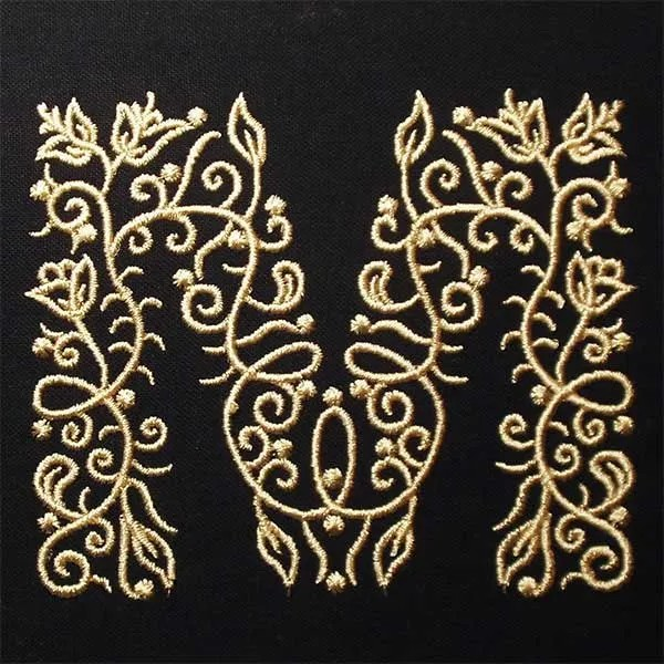 Embroidery Design M Fine Ornament