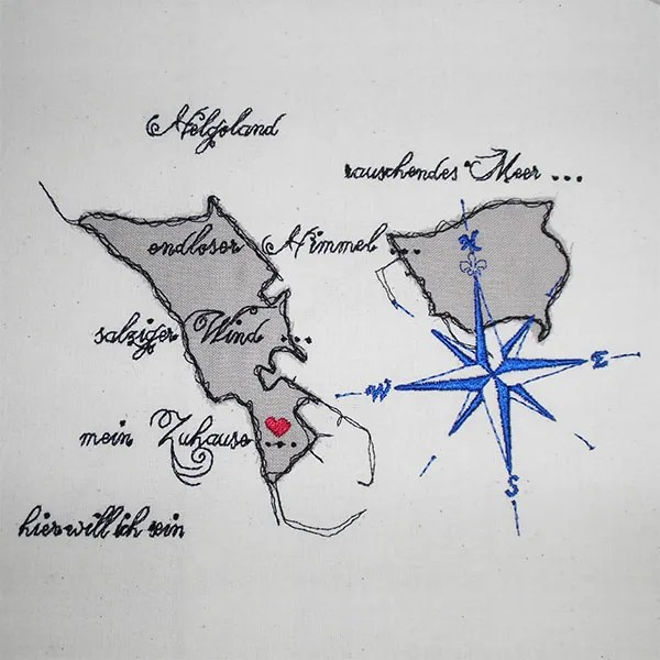 Helgoland Doodle Applikation