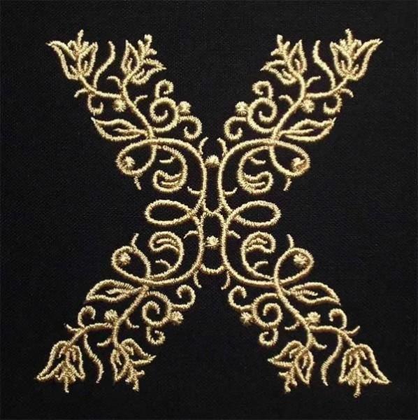 Stickdatei X Fine Ornament
