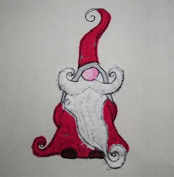 Christmas Gnome Doodle