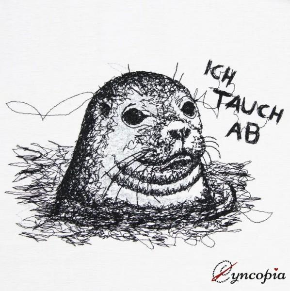Embroidery Design Seal scribble