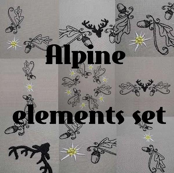 Alpine Elemente Set
