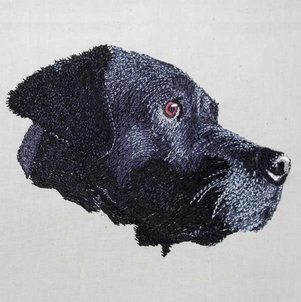 Embroidery Design Labrador