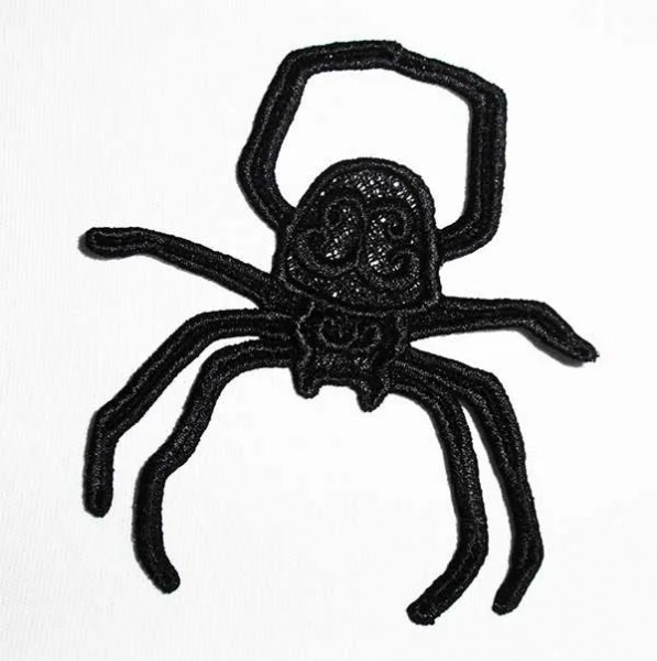 Embroidery Design Spider Lace