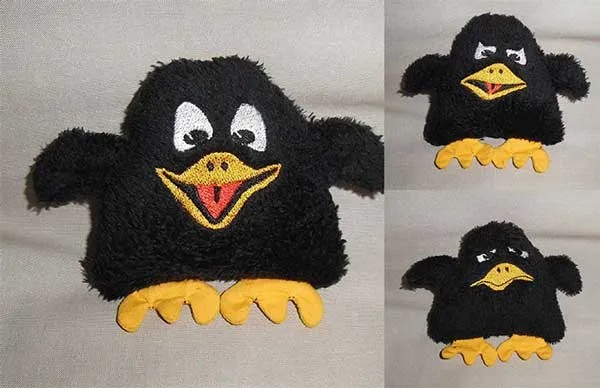 Embroidery Design Awakening Raven ITH