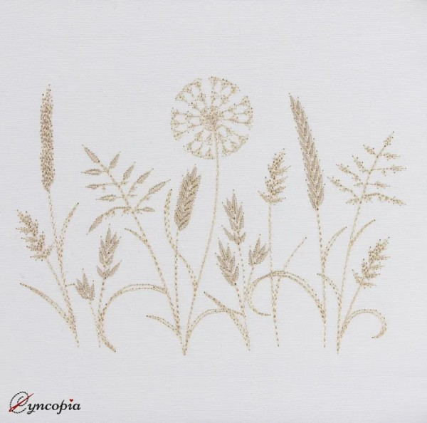 Embroidery Design Gras Impression No. 4