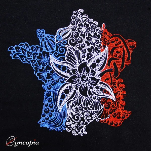 Fichier Broderie France Zendoodle