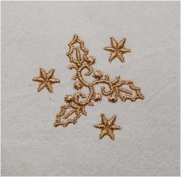 Embroidery Design X-Mas Ornament 2