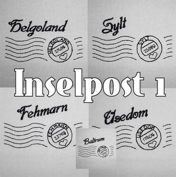 Stickdatei Insel Post 1