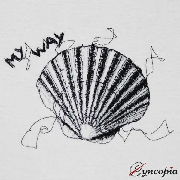 Embroidery Design Scallop scribble