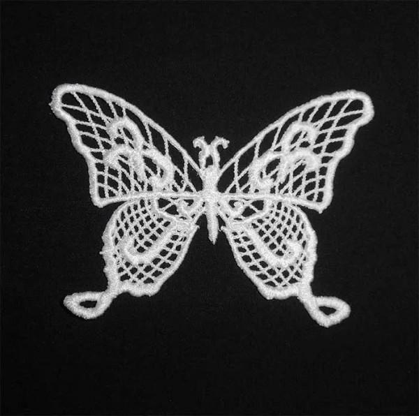 Fichier Broderie Papillon élégant lacé