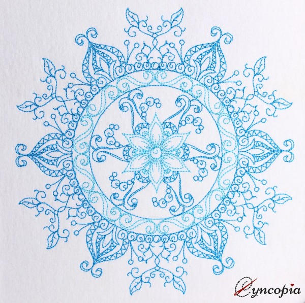 Embroidery Design Sun of Mandala