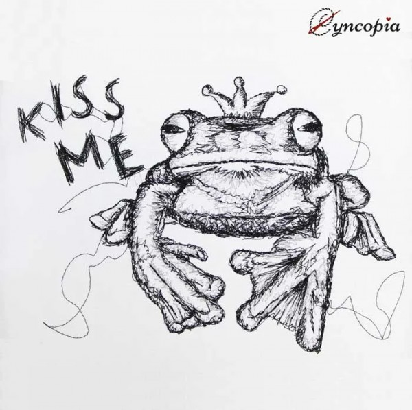 Froschkönig Scribble