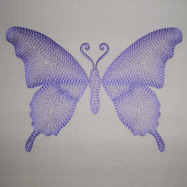 Embroidery Design Grafical Butterfly