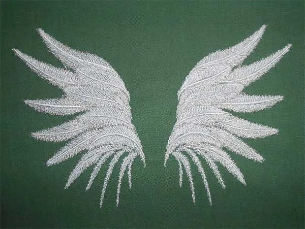 Embroidery Design Angelwings Set