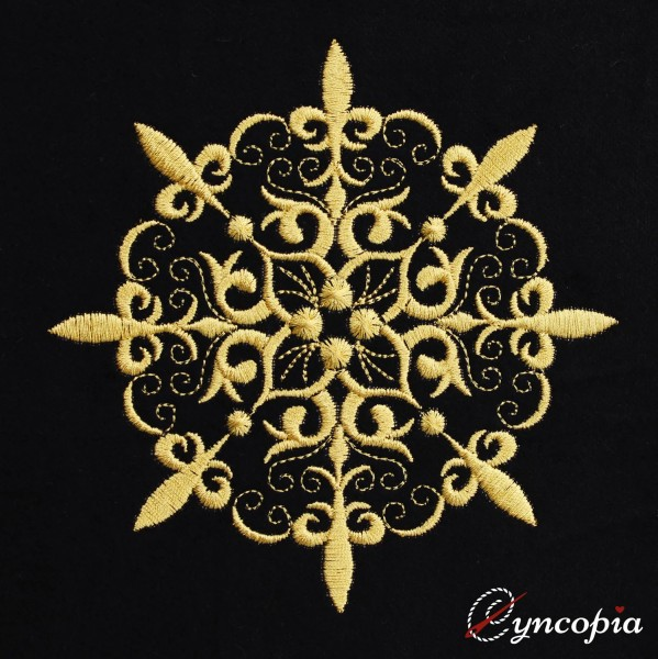 Embroidery Design Mandala Medallion