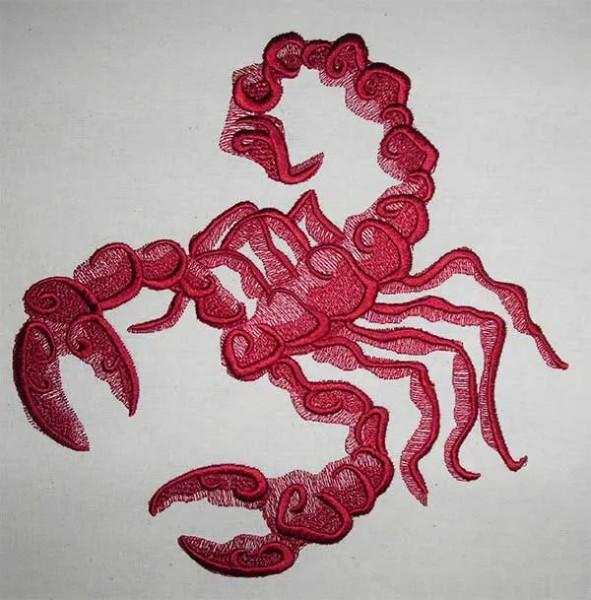 Stickdatei Scorpion