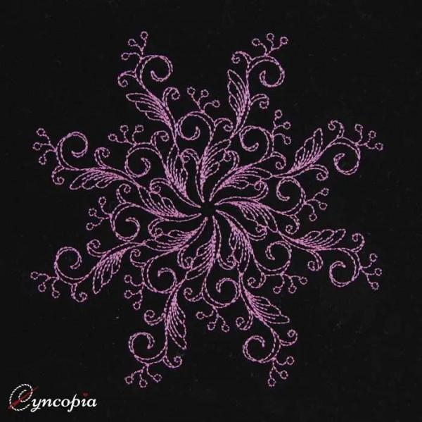Embroidery Design Mandala Melissa Sun
